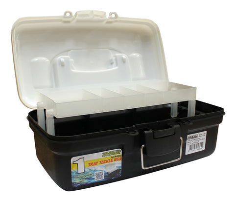 Pro Hunter One Tray Tackle Box - White