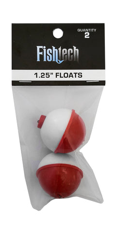 Fishtech Floats 1.25 inch 2 Pack