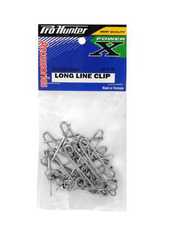 Pro Hunter Long Line Clip (10 per pack)