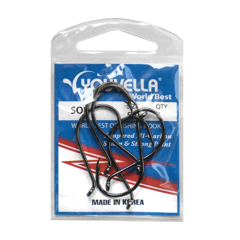 Youvella Soi 5/0 Hooks (6 per pack)