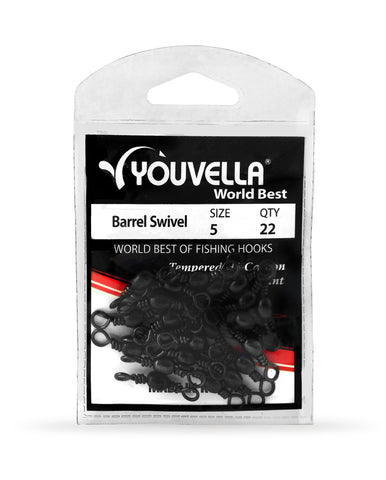 Youvella Barrel Swivel 5 (22 per pack)