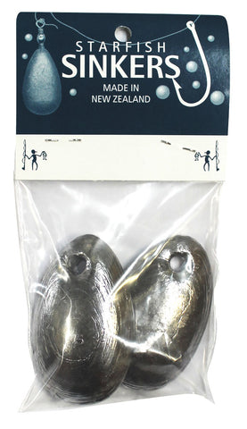 Starfish Spoon Sinker Sinker Packet 6oz (2 per pack)
