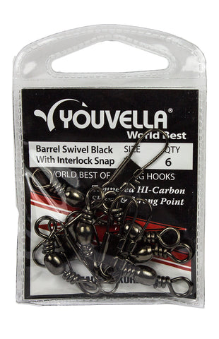 Youvella Swivel Snap 1 (7 per pack)
