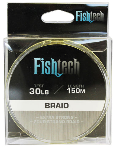 Fishtech Braid 30lb 150m