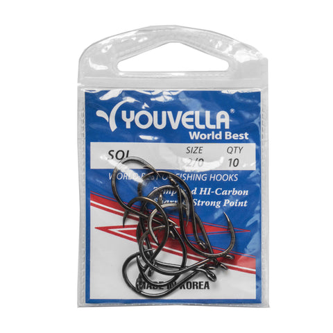 Youvella Soi 2/0 Hooks (10 per pack)