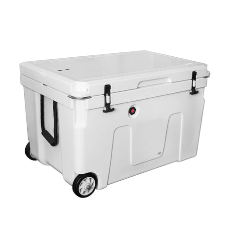Southern Ocean 140L Cooler Bin With Wheels and Vent Valve