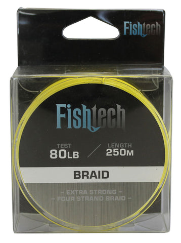 Fishtech Braid 80lb 250m