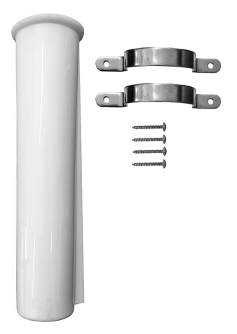 Premium Side Mount Rod Holder - White