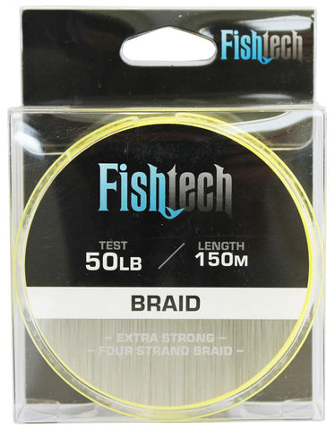 Fishtech Braid 50lb 150m