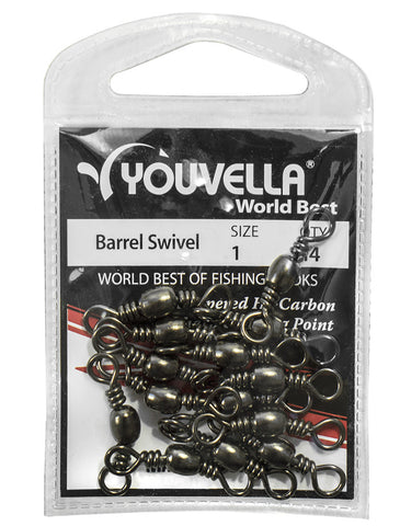 Youvella Barrel Swivel 1 (14 per pack)
