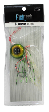 Fishtech 80g Slippery Slider Lure - Green