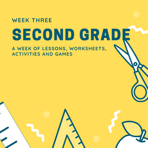 Second Grade Lesson Plan- Week 3