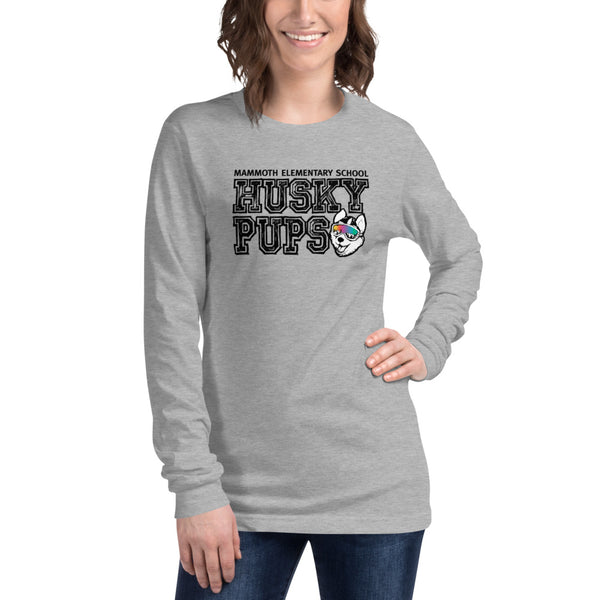 Husky Pup Women's Long Sleeve Tshirt