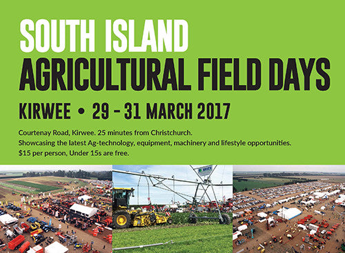 South Island Field Days 2017