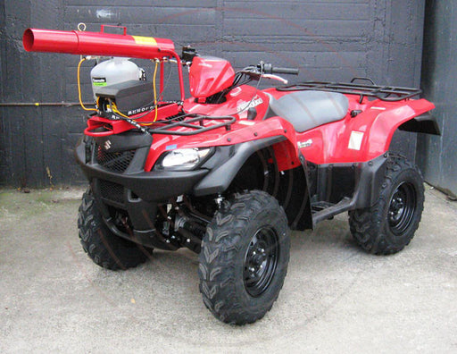gas gun on quad bike