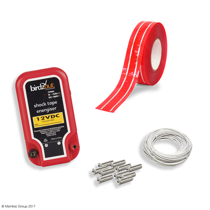 birdzout shock tape kit