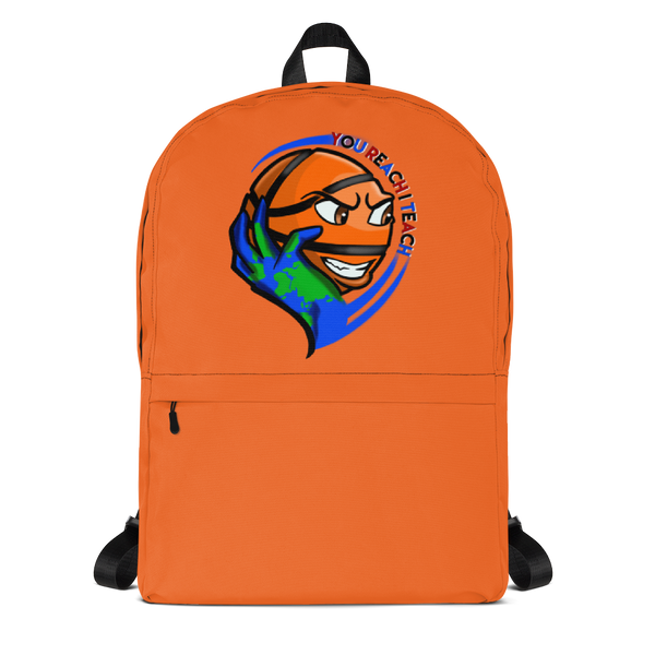 Single Logo Backpack Orange