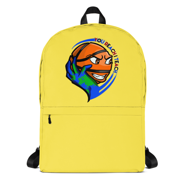 Single Logo Backpack Yellow