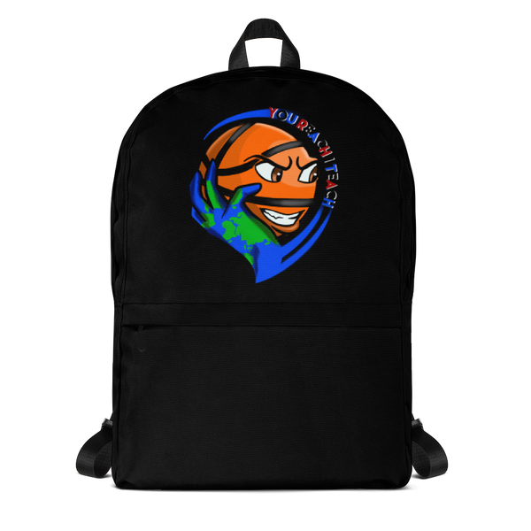 Single Logo Backpack Black