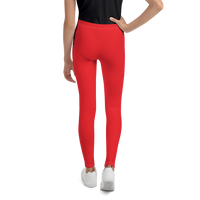 Single Logo Unisex Youth Leggings