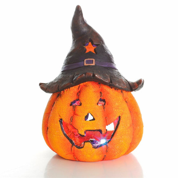 Premier 41cm Pumpkin With Hat - DeWaldens Garden Centre