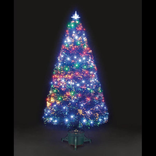 Snowtime Galaxy LED Tree 6ft - DeWaldens Garden Centre