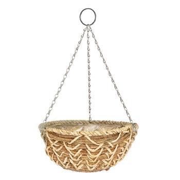 Gardman Banana Braid Hanging Basket - DeWaldens Garden Centre