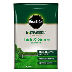 Miracle Gro Evergreen Premium Plus Thick & Green Lawn Food 400m2