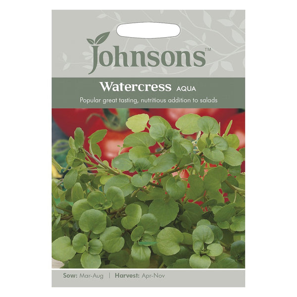 Johnsons Watercress Aqua Seeds - DeWaldens Garden Centre