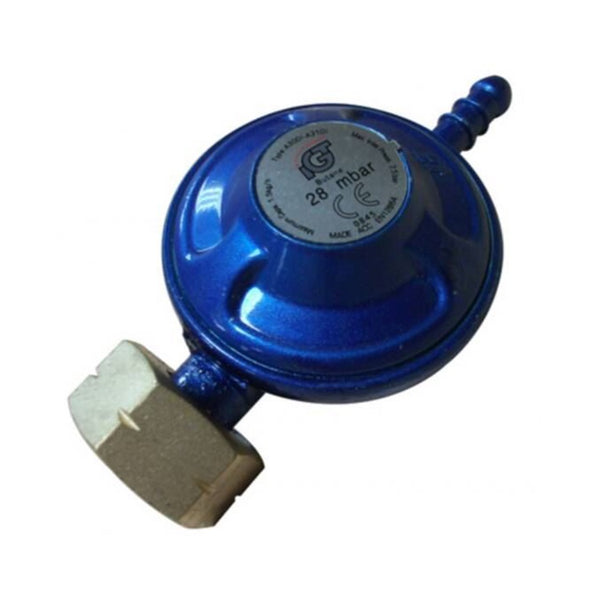 Screw On Butane Regulator for 4.5kg Calor Gas Cylinder - DeWaldens Garden Centre