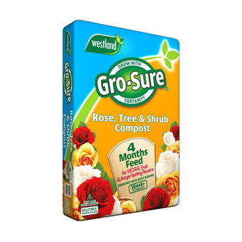 Gro-Sure Rose, Tree & Shrub Compost 50L - DeWaldens Garden Centre