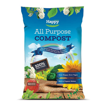 Happy Compost All Purpose Compost - DeWaldens Garden Centre