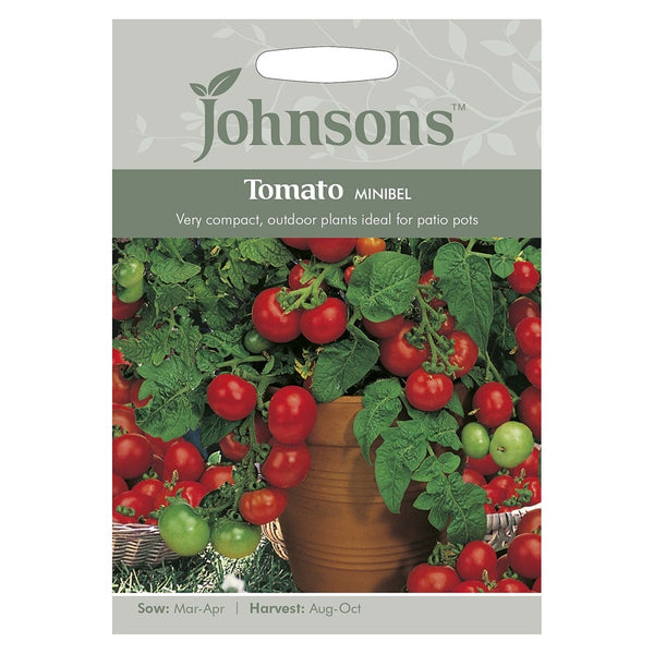 Johnsons Tomato Minibel Seeds - DeWaldens Garden Centre