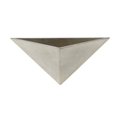 Apta Cement Triangle Wall Pot 32cm - DeWaldens Garden Centre
