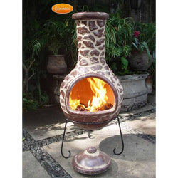 Gardeco Cantera XL Mexican Chiminea