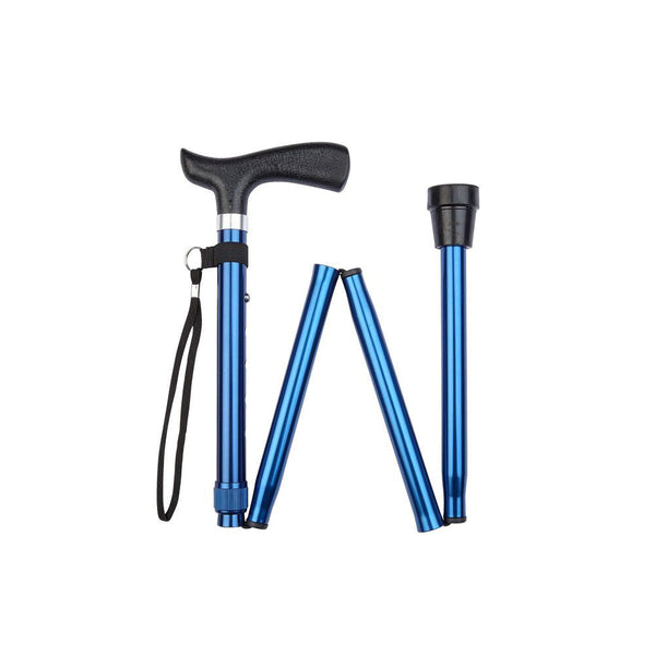 Charles Buyers Economy Folding Walking Stick - DeWaldens Garden Centre