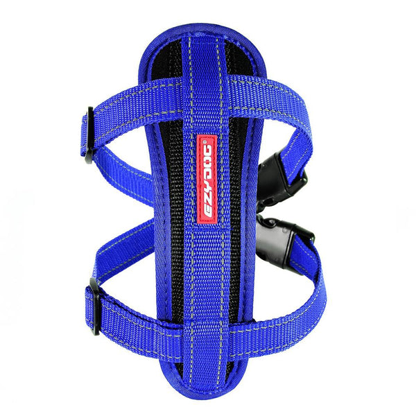EzyDog Chest Plate Harness | Large | Blue | DeWaldens Garden Centre
