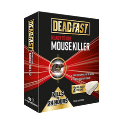 DeadFast Ready To Use Mouse Killer Bait Station