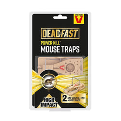 DeadFast Power Kill Mouse Traps