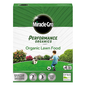 Miracle-Gro Performance Organics Lawn Food - DeWaldens Garden Centre