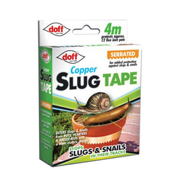 Doff Slug & Snail Adhesive Copper Tape 4m