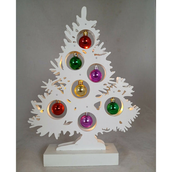 Straits LED Bauble Tree - DeWaldens Garden Centre