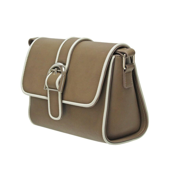 Envy Buckle Satchel Bag - DeWaldens Garden Centre