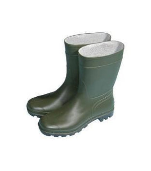 Town & Country Essential Half-Length Wellies 4 green - DeWaldens Garden Centre