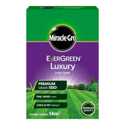 Miracle-Gro Evergreen Luxury Grass Seed 420g