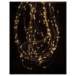 Festive Copper Wire Branch Lights 200cm - DeWaldens Garden Centre