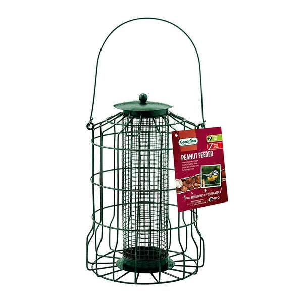 Gardman Squirrel Proof Peanut Feeder - DeWaldens Garden Centre