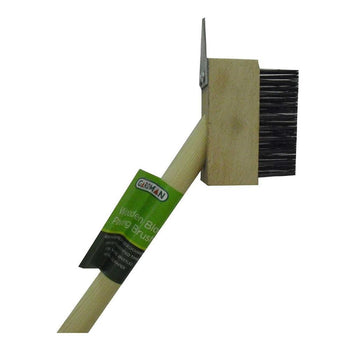 Gardman Wooden Patio Cleaning Brush - DeWaldens Garden Centre