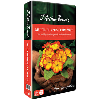 J. Arthur Bowers Multi-Purpose Compost 50L - DeWaldens Garden Centre