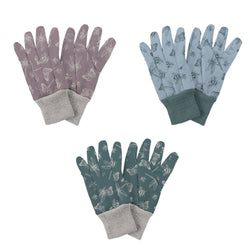 Kent & Stowe Jersey Cotton Grip Gloves Triple Pack